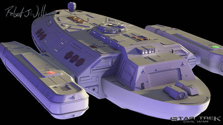 Unnamed Federation Ship part 31 by XFozzboute