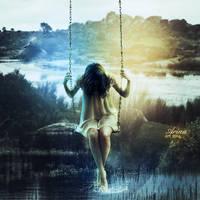 Water Girl by ArinaBagginsArt