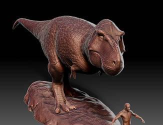 T.rex (2017) by IlyaYungin1991