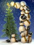 The Snowmen's X-mas Tree
