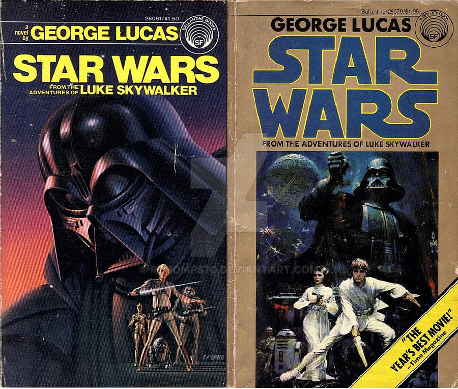 Star Wars Book Cover Art : Star wars book covers side by rthomps on deviantart
