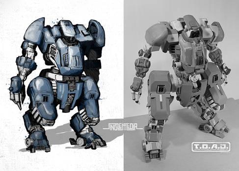 Concept Mech: TOAD Unit