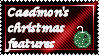 Christmas Feature Stamp - my first stamp by Caedy