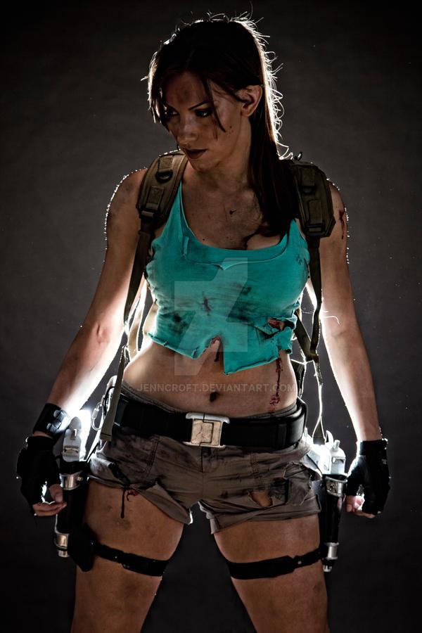 Lara Croft Disheveled 1 by JennCroft