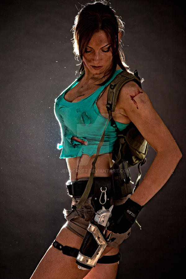 Lara Croft Disheveled 2 by JennCroft