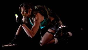 Lara Croft Disheveled 5 by JennCroft
