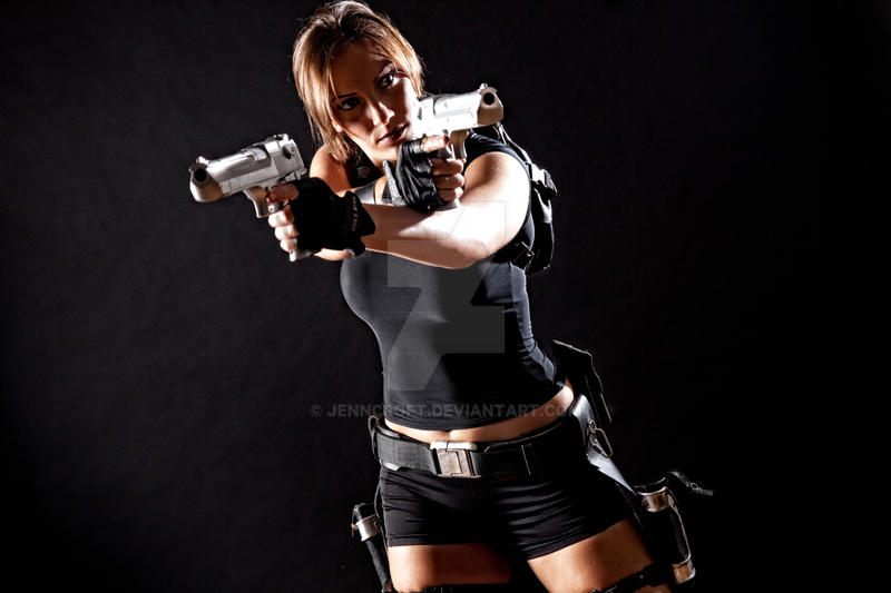 Lara Croft Underworld/Movie Hybrid 2 by JennCroft