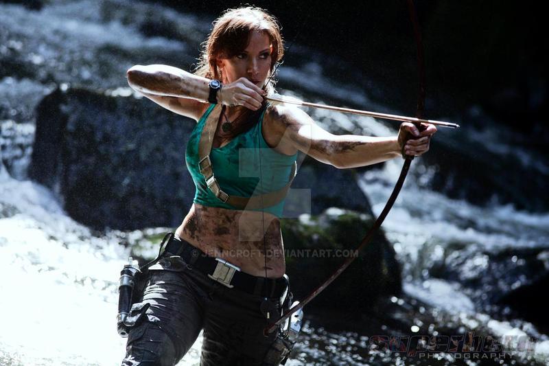 Lara Croft: Hunting by JennCroft