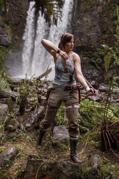 Lara Croft: Arrow Nocked by JennCroft