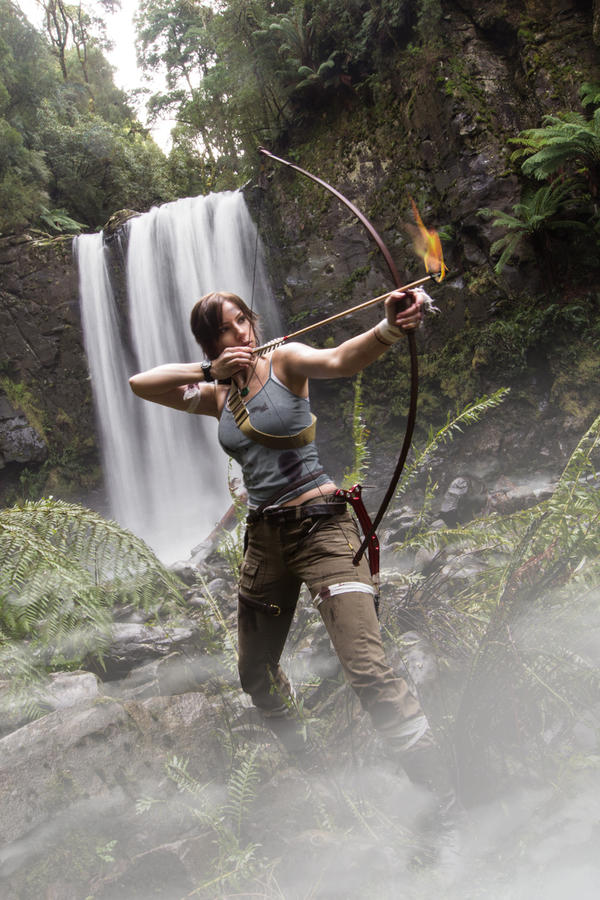 Tomb Raider Reborn Flaming Arrow by JennCroft