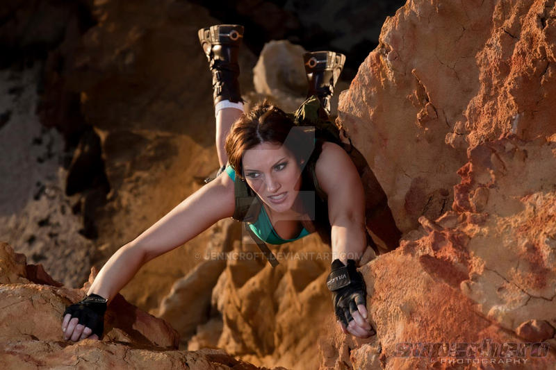 Tomb Raider Lara Croft: Cliffhanger by JennCroft