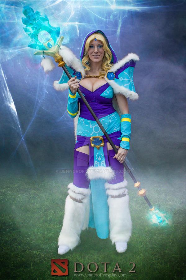 Crystal Maiden- DOTA2 by JennCroft