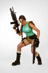 Classic Lara Croft Tomb Raider Cosplay by JennCroft