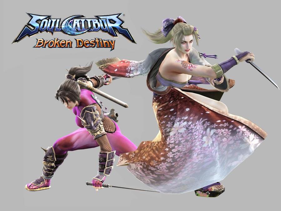 SC:Broken Destiny-Taki+Setsuka