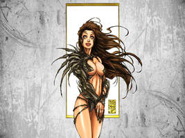 Michael Turner's WITCHBLADE Wallpaper
