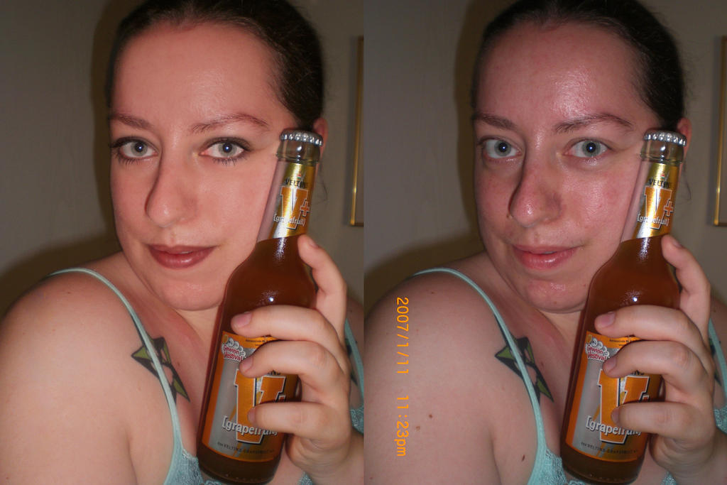 Beer Time by Fachhillis (after and before)