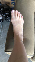 Paula (me) Pattershall pedicured foot