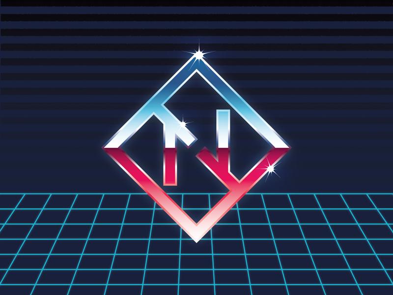 80s logo by DuskGuard