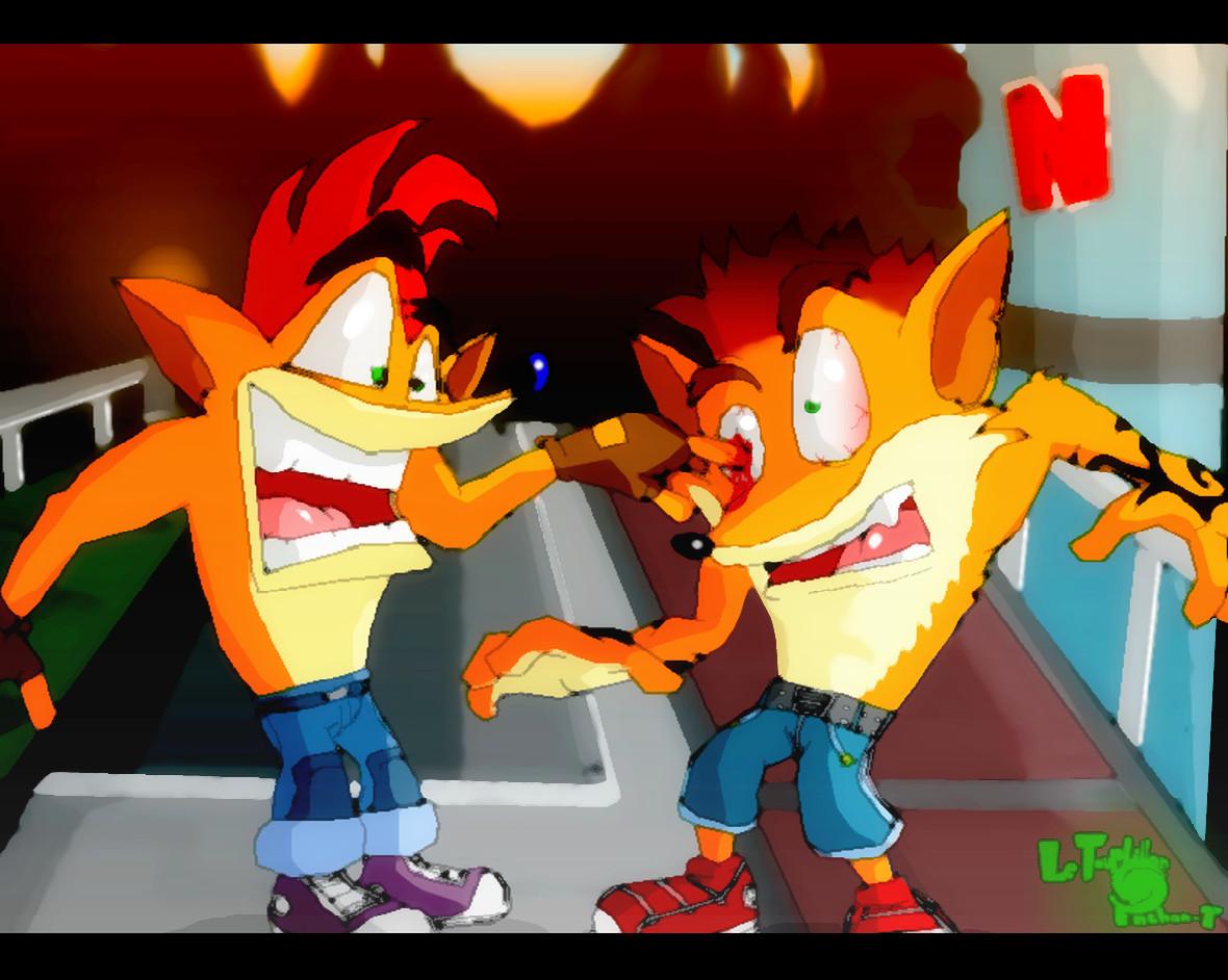 Crash Bandicoot 2 Komo...