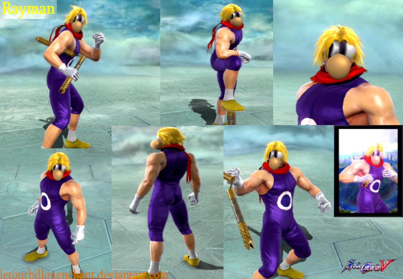 Rayman - Soul Calibur V Character Creation by