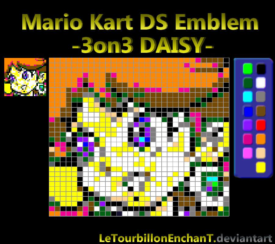 Mario Kart Ds Emblem 3on3 Daisy By Letourbillonenchant On
