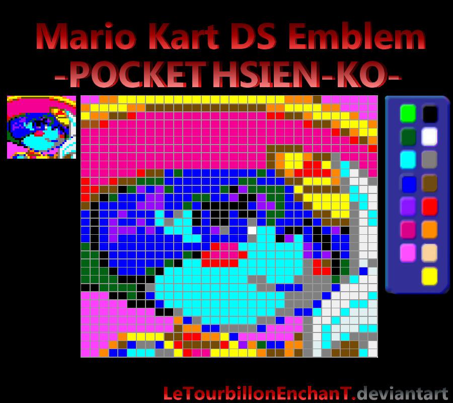 Mario Kart Ds Emblem Pocket Hsien Ko By Letourbillonenchant On