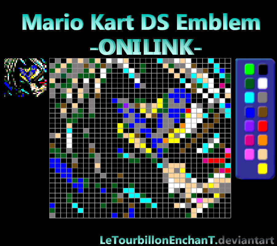 Mario Kart Ds Emblem Onilink By Letourbillonenchant On Deviantart