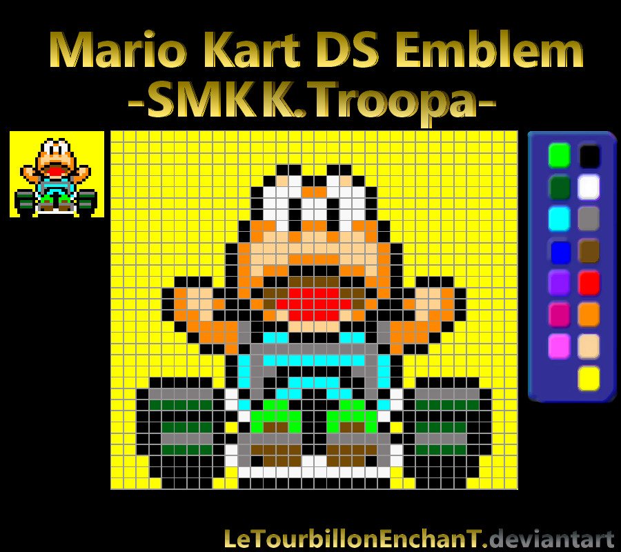 Mario Kart DS Emblem : -SMK KOOPA- by LeTourbillonEnchanT