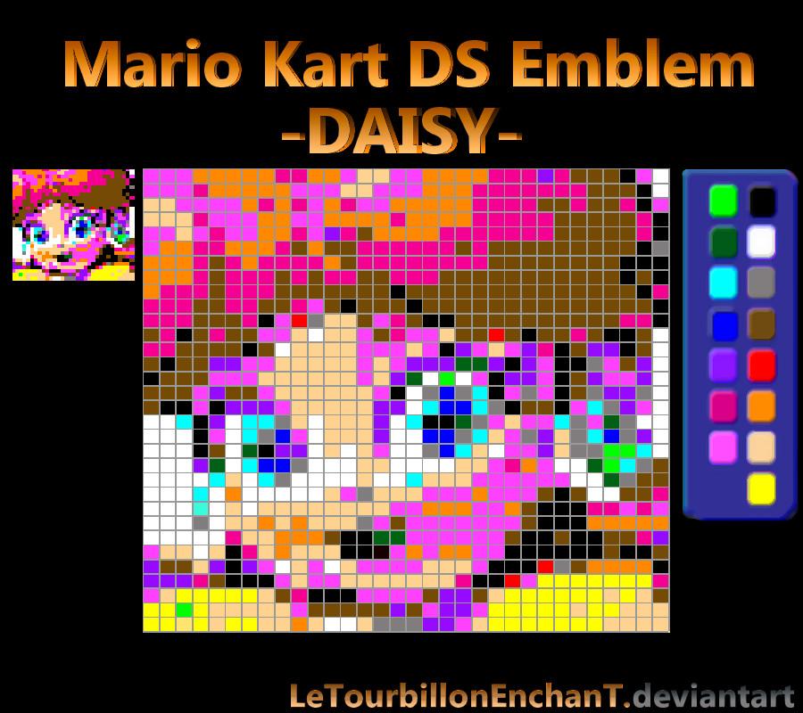 Mario Kart Ds Emblem Daisy By Letourbillonenchant On Deviantart