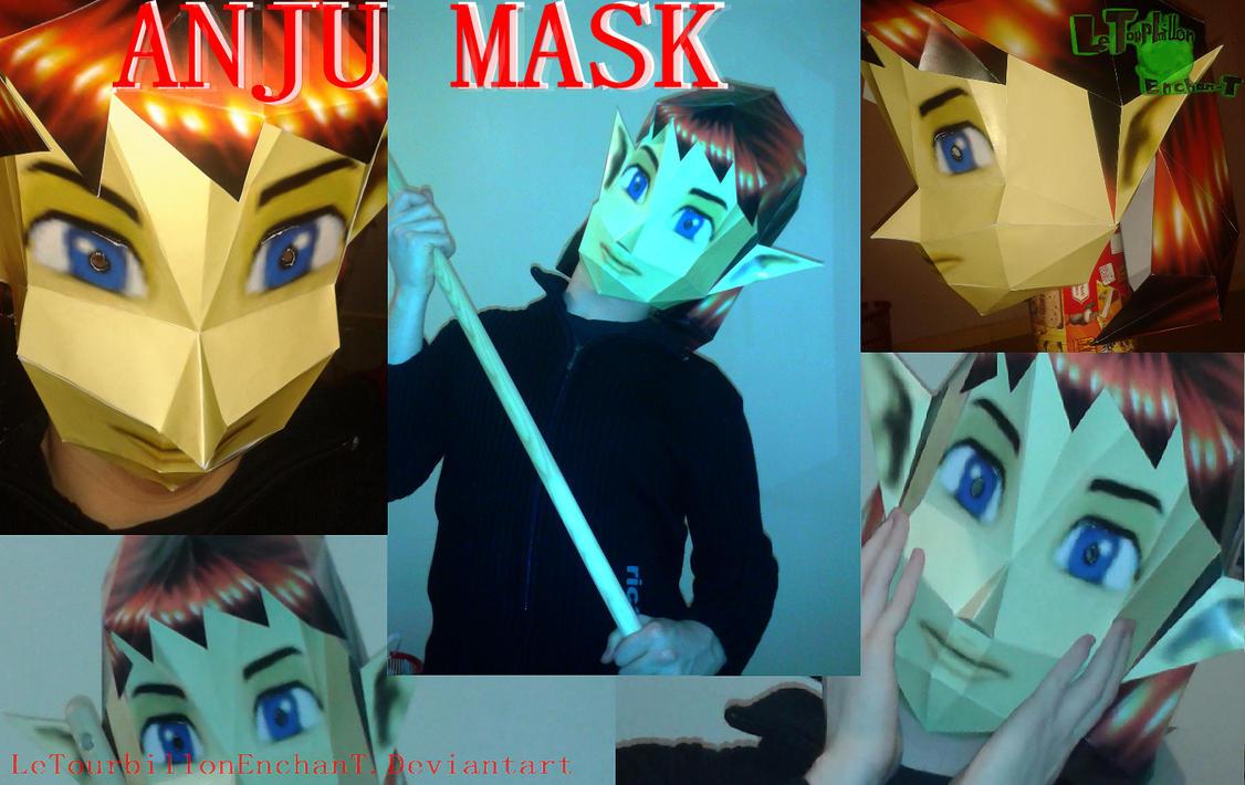 Zelda MM -Anju Mask- LTE-T Papercraft by LeTourbillonEnchanT