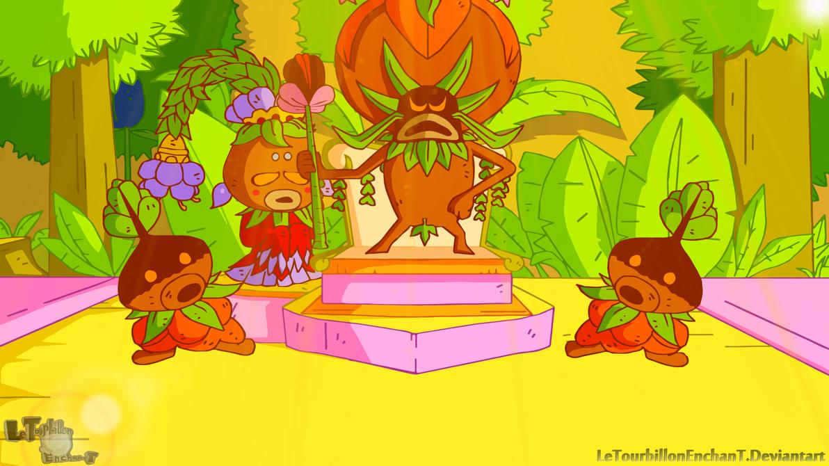 Zelda Majora's Mask - Deku Palace by LeTourbillonEnchanT