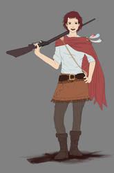 Cowgirl by ciliath