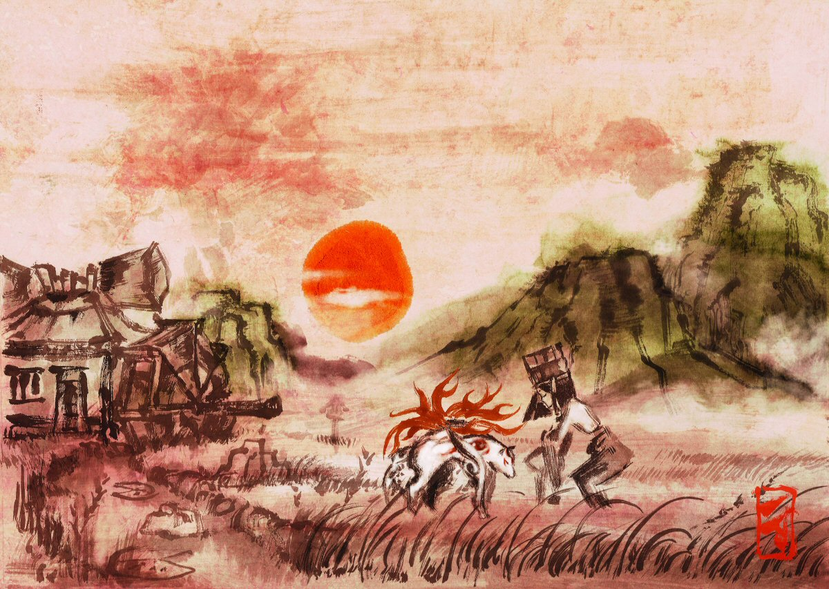 Okami WP by wingzero5018