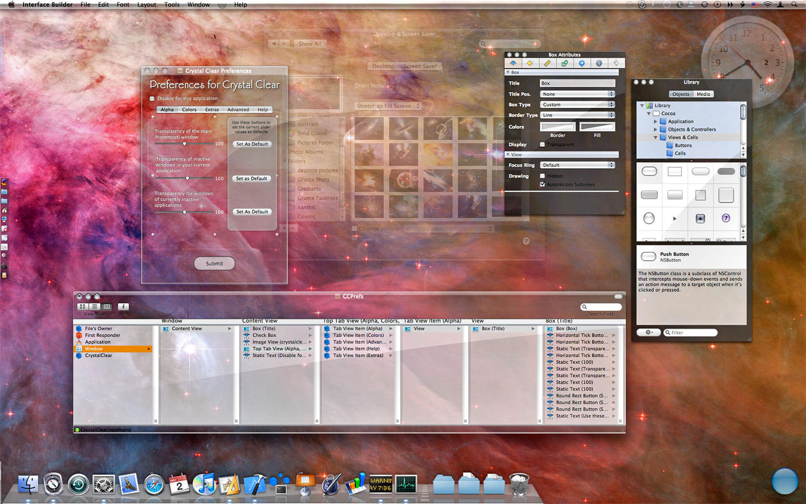 CrystalClear Interface: Pic 3