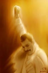 Freddie Mercury by gerky-art