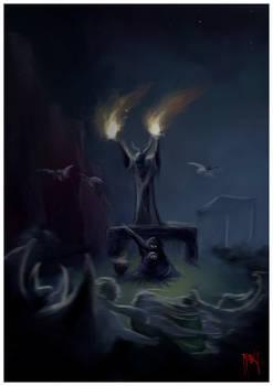 Evocacion de los muertos amados