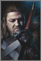 Lord Eddard Stark by gerky-art