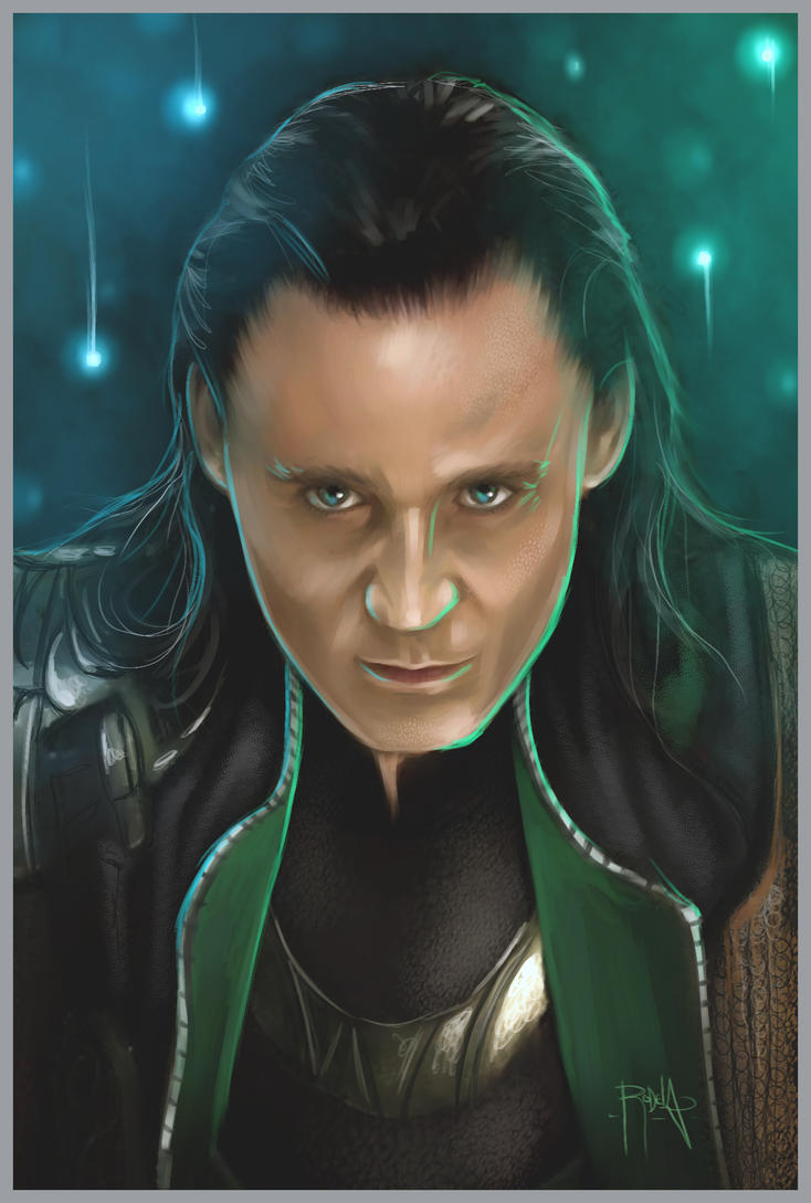 Loki Laufeyson by gerky-art