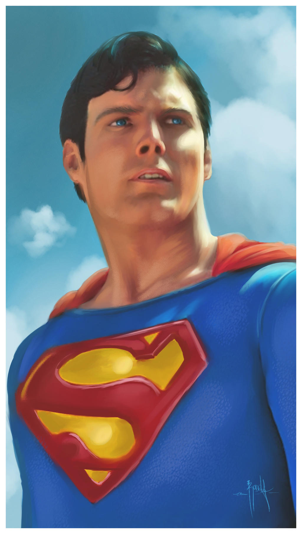 Superman by gerky-art