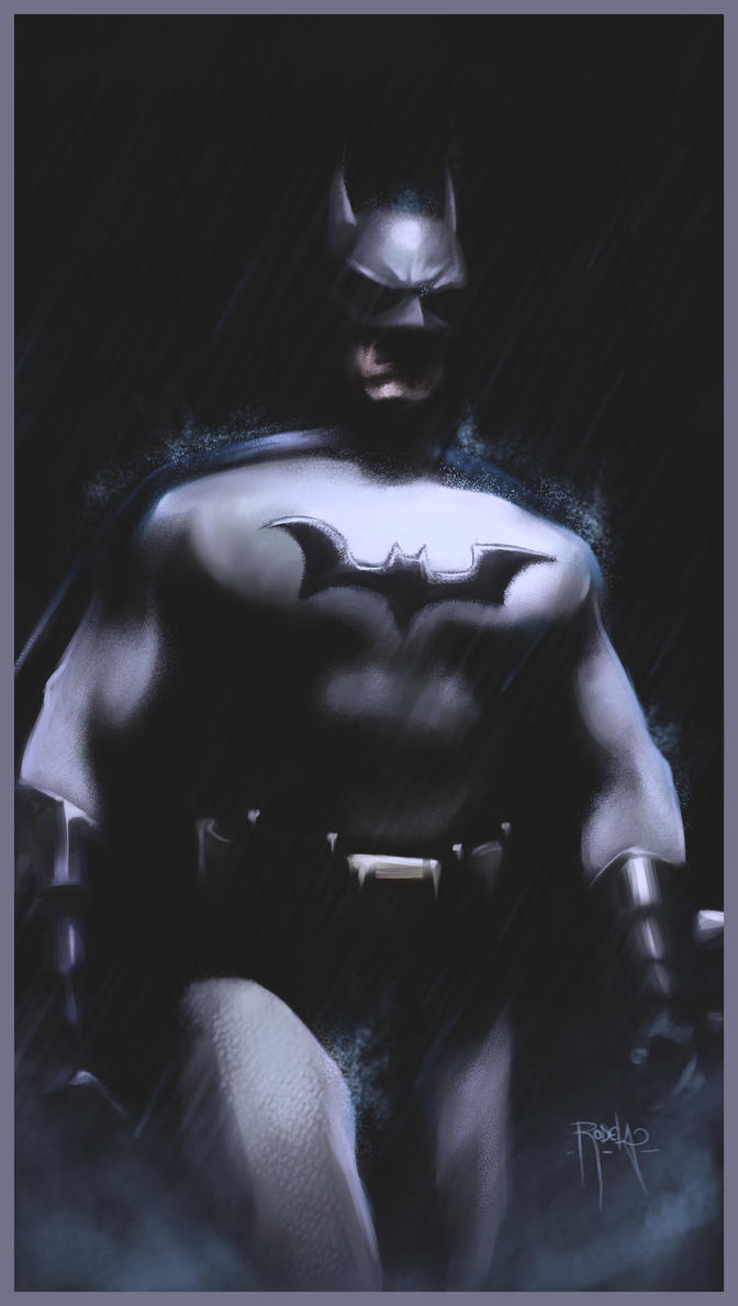 The Batman. by gerky-art