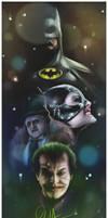 Batman - Tribute to Tim Burton.