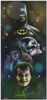 Batman - Tribute to Tim Burton.