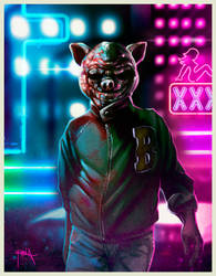 Jacket - Hotline Miami.