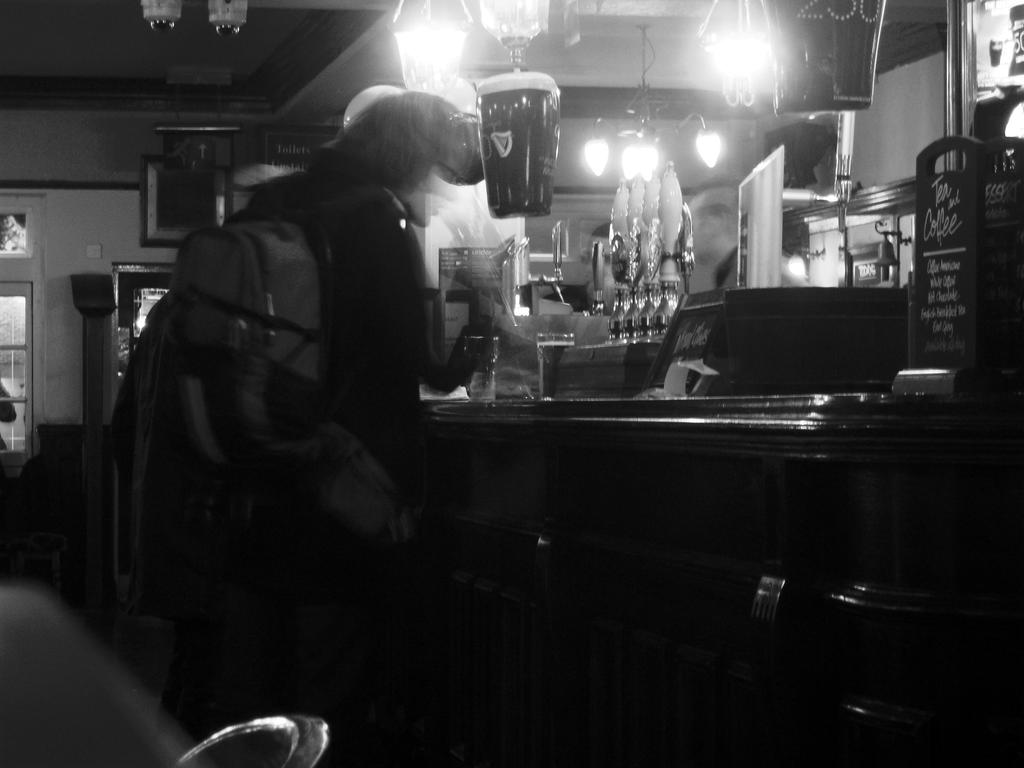 Ghost at the Bar by Pho-TasticMathew