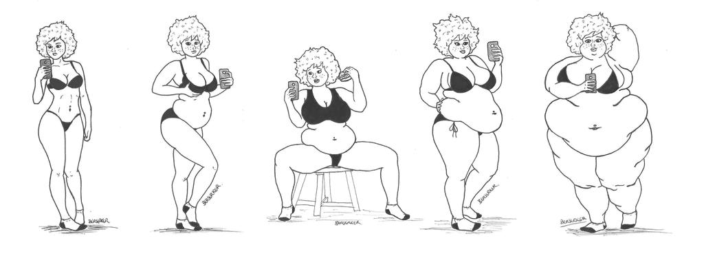 Charlotte Weight Gain Progression By Berserker1133 On