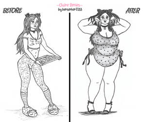 Claire-Bear Series: Before and After
