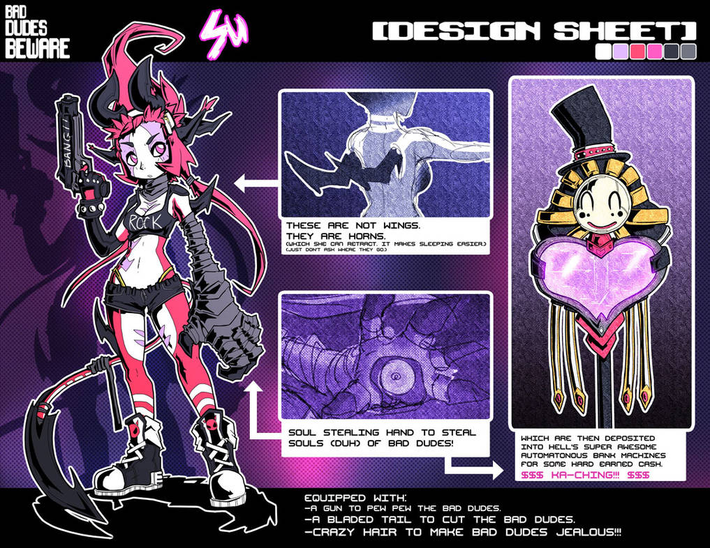 BDB: Su Design Sheet by endshark