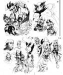 BDB: Pencil doodles
