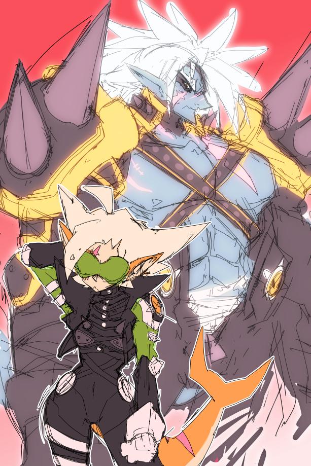 SR: Lord Dread / Katta by endshark