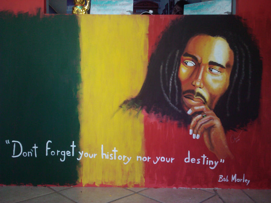 Mural bob marley by dohkolibra on deviantart for Bob marley wall mural